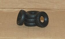 20-3- 5  Black Block Tread for Dinky Land Rover & Jeep