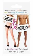 BOOBS & BONERS CARD GAME Adult FUN NAUGHTY GIFT Sex Aid Cards Truth Dare
