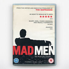 MAD MEN - Season 1 ( DVD Region 2 / 2008 ) **GOOD CONDITION**