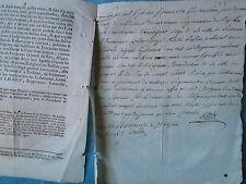 ARRET 1766 : INTERDICTION AUX BENEDICTINS DU LANGUEDOC + MS LAYRAC (AUDE)