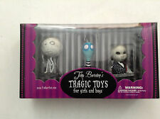 TIM BURTON'S TRAGIC TOYS 3-PACK PVC FIGURINE BOX SET MUMMY BOY TOXIC PENGUIN 124