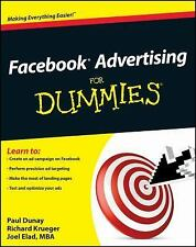 Facebook Advertising For Dummies (For Dummies (Computer/Tech))