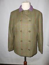 SHOWING SELECTION PURE WOOL  TWEED  JACKET   SIZE UK 14 NEW   MADE IN ENGLAND