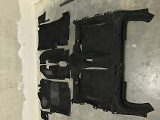 Originale VW Golf 2 G60 Teppich Schwarz vorne + hinten 6 Teile GTI PG