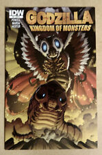 GODZILLA KINGDOM OF THE MONSTERS #4 - FIRST PRINT 1:10 VARIANT IDW (2011)
