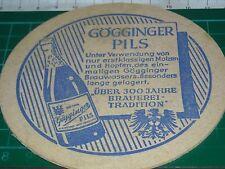 sottobicchiere beer mats birra bierdeckel GOGGINGER PILS