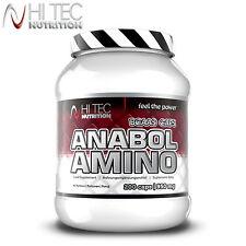 Anabol acides aminés 200 caps. énorme dose de leucine anabolisants la croissance musculaire bcaa