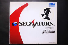 CONSOLE SEGA SATURN WHITE SONIC TOYS R US Limited Edition JAPAN Very.Good.Cond