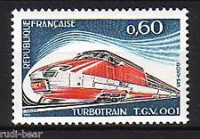France Nº 1883 ** gasturbinenzug tgv 001 de la sncf