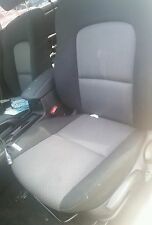 2006-2009 MAZDA 3 LEFT DRIVER FRONT SEAT Black and Gray  06 07 08 09