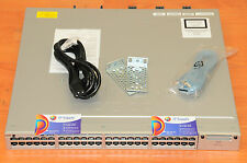CISCO WS-C3850-48T-E Switch 48x1GE Stackable w/racks 6MthWtyTaxInv