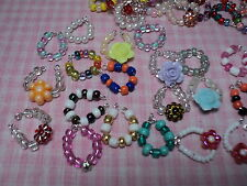 Littlest Pet Shop Handmade LPS 4pc Collars/Necklaces Accessories Great 4 Gift