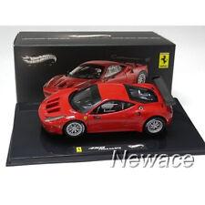 FERRARI 458 ITALIA GT2 RED ELITE HOTWHEELS 1/43 #X2861