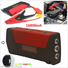 Portable 16800mA Car Jump Starter Battery Power Bank Emergency Battery Charger