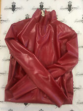 X331 LATEX rubber DRESS *PSRED* Westward Bound £165 16  **DESIGNED+MADE IN UK*