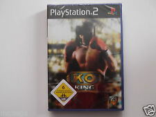 KO KING for PLAYSTATION 2 'VERY RARE & HARD TO FIND'