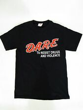 NEW! D.A.R.E. To Resist Drugs & Violence Retro T-Shirt - (Children M 10-12) DARE