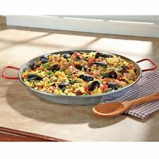"MageFesa Carbon on Steel 24"" Paella Pan (15-25 servings)"