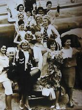 Photo de presse vintage AGIP R Cohen Election Miss univers 1963 Miami Etats-Unis