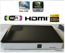 Intel Atom Dual Core Mini PC HTPC Compact Desktop HDMI NVIDIA Wi-Fi XBMC