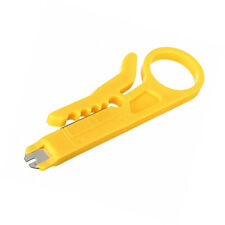 RJ45 LAN Network Cat5e Cat6 Cable Wire Punch Down Stripper Cutter Cabling Tool