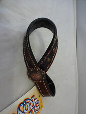 New Cooper Spotted Bling Tie Down Keeper Hobble Silver Royal Rodeo Horse Concho