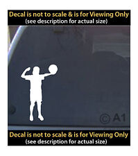 volleyball serve 6 inch decal 4 car truck home laptop quality made in usa SPT95b