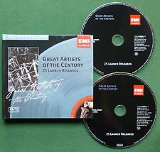 Great Artists of Century Excerpts Berlioz Schubert Puccini + Book Style CD x 2