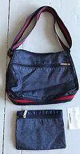 "New LeSportsac Purse & Pouch Blue ""Denim"" Look"