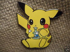 "1 ""Smoking Pikachu"" Pin FREE SHIPPING (Heady Weed 420 Dab Grateful Dead Hat Pins"