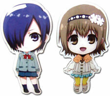 Tokyo Ghoul - Chibi Cute Touka & Hinami Pin Set of 2 from Funimation*Brand New*