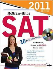 McGraw-Hill's SAT with CD-ROM, 2011 Edition (Mcgraw Hill's Sat (Book & CD Rom))