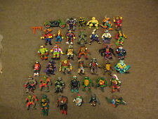 VINTAGE LOT 38 Teenage Mutant Ninja Turtles Early 90s TMNT Action Figures RARE