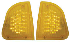 Kenworth T600 Turn Signal Set (L/H & R/H) with 29 Amber LEDs and Amber Lens
