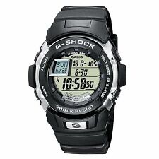 Casio G-Shock 100 Lap Memory Black Rubber Strap World Time Watch G-7700-1ER