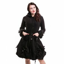 bnwt 'Alice Coat' Poizen Industries black cosy kaiwaii goth emo punk large