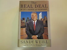 SIGNED Sandy Weill – The Real Deal HBDJ 2006 Citibank Citigroup CEO Banking