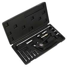 Sealey Air Blow Trigger Gun Cleaning Kit With Nozzle / Lances14pc - SA921