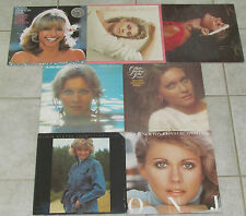 OLIVIA NEWTON-JOHN 7 LP RECORD ALBUMS LOT COLLECTION Greatest Hits 1&2/Physical+