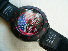 1997   Swatch Watch Access Palmer Large  Velcro band SHB100L