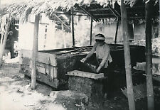 INDOCHINE c. 1935 - Fabrication du Papier - DIV 8074