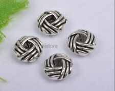 50pcs tibetan silver Bird's Nest Spacer Beads DIY Findings