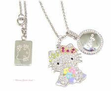 ❤ Hello Kitty Diamonique Year Of Hello Kitty Pendant Necklace In VIRGO ~NEW~ ❤