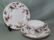 Minton Ancestral Bone China Trio Tea Cup, Saucer & Side Plate S.376