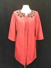 "ALBERT NIPON  DRESS SUIT/FIRE RED/NWT/SIZE 16/RETAIL$299/DRESS LENGTH 38""/LINED"