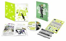 New Mob Psycho 100 Vol.1 First Limited Edition DVD Booklet Sticker Japan F/S