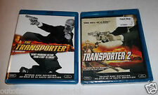 Transporter 1 & 2 Blu-ray Discs - Like New, One Factory Sealed Canadian Copys