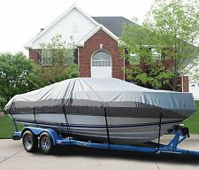 "GREAT BOAT COVER FITS 21'-23' V-hull Cuddy Cabin Boat up to 102"" beam"
