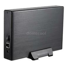 "Godo SuperSpeed 3.5"" USB3.0 SATA 5Gbps External HDD Enclosure Case+ Cable F5D1"