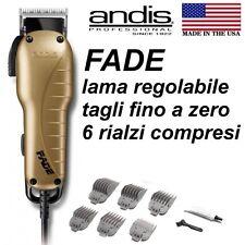 ANDIS FADE Tosatrice Professionale Taglia a zero Tagliacapelli MADE IN USA